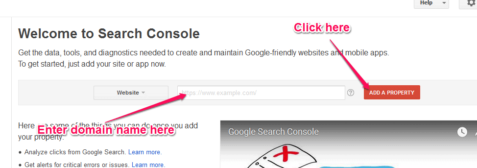 google search console add website.png