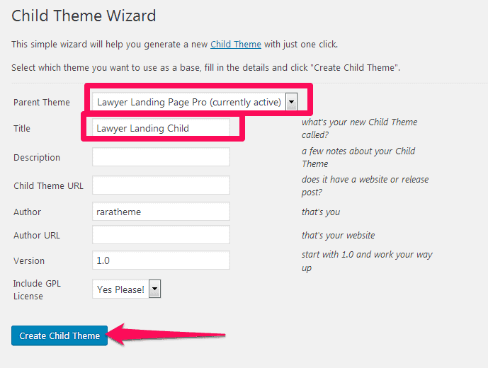 create a child theme.png