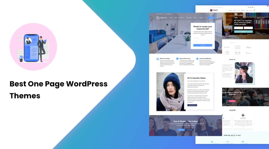 30+ Best One Page WordPress Themes of 2021
