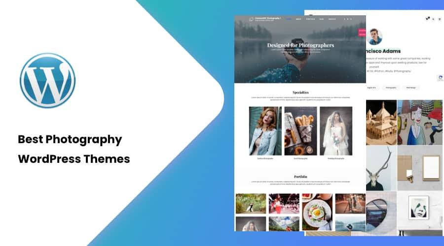 30+ Best Photography WordPress Themes of 2021