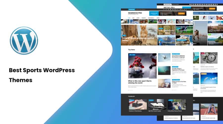 25+ Best Sports WordPress Themes of 2021