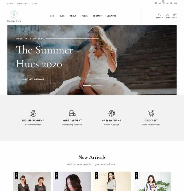Blossom Shop Pro