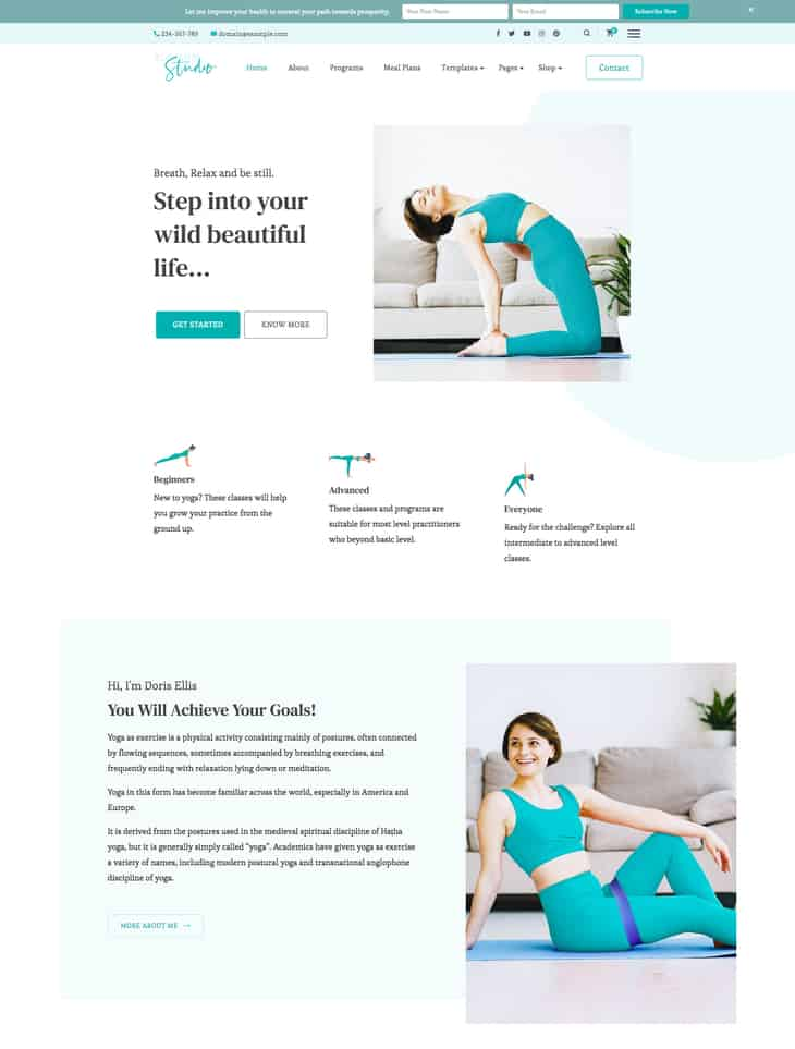 Blossom Studio Pro WordPress Theme