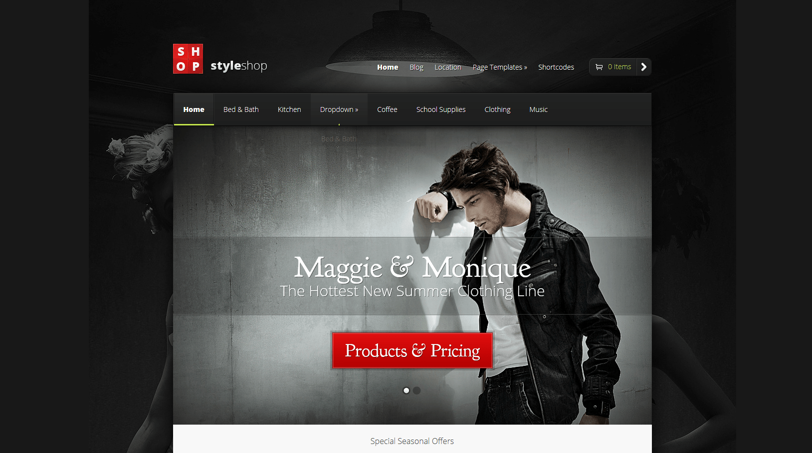 ecommerce WordPress theme Jewlery