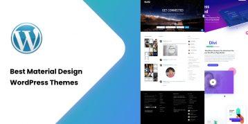 Best Material Design WordPress Themes