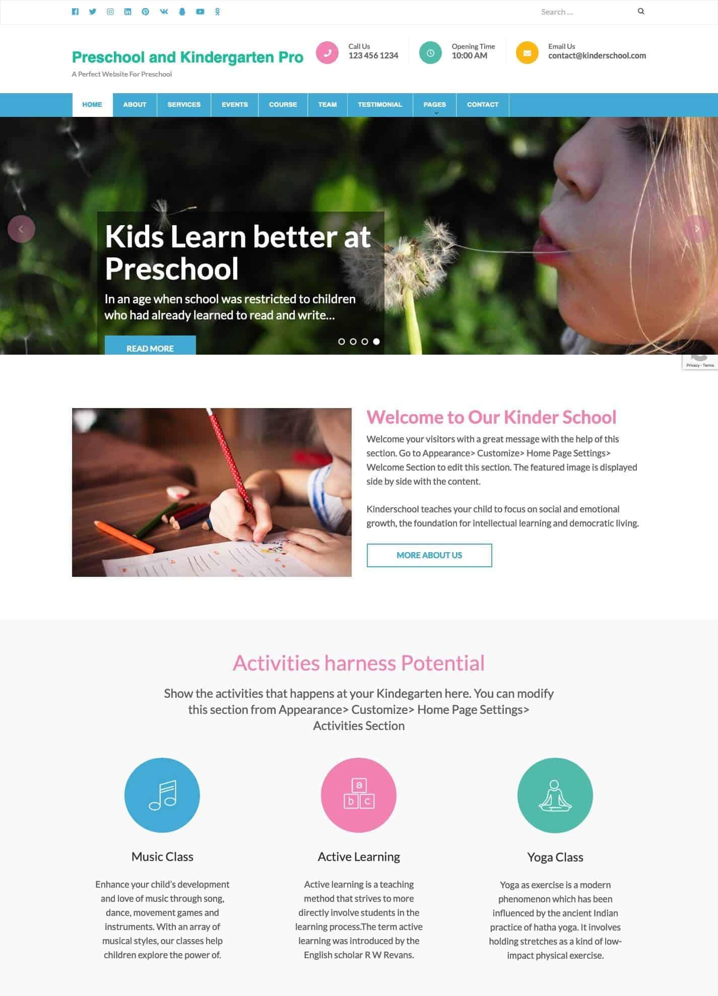 Preschool and Kindergarten Pro