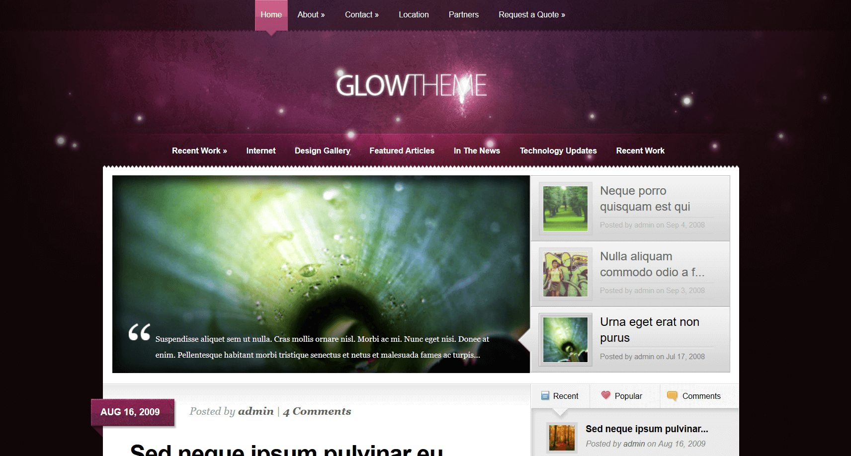 affiliate WordPress themes