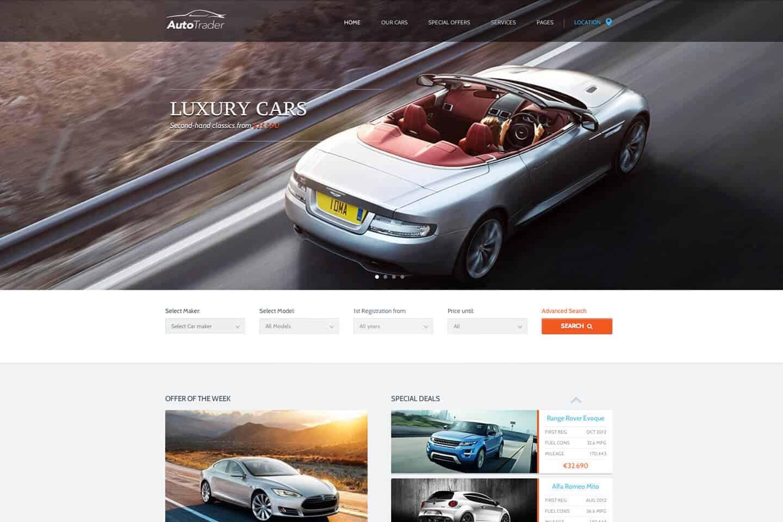 Auto WordPress themes