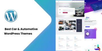 Best Car & Automotive WordPress Themes