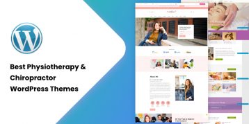 Best Physiotherapy & Chiropractor WordPress Themes