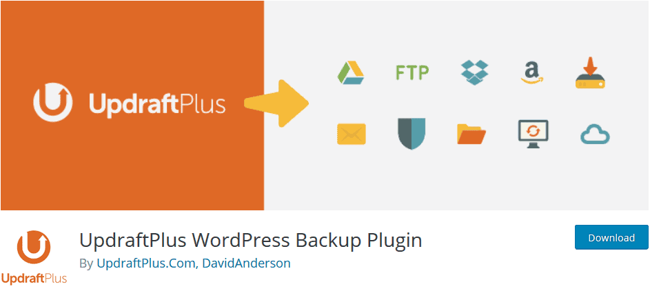 backup plugin business website wordpress
