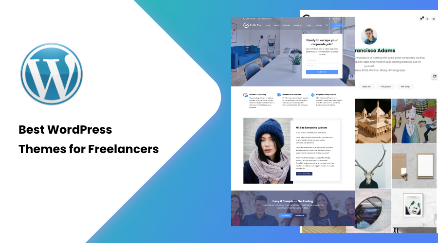 30+ Best WordPress Themes for Freelancers of 2021