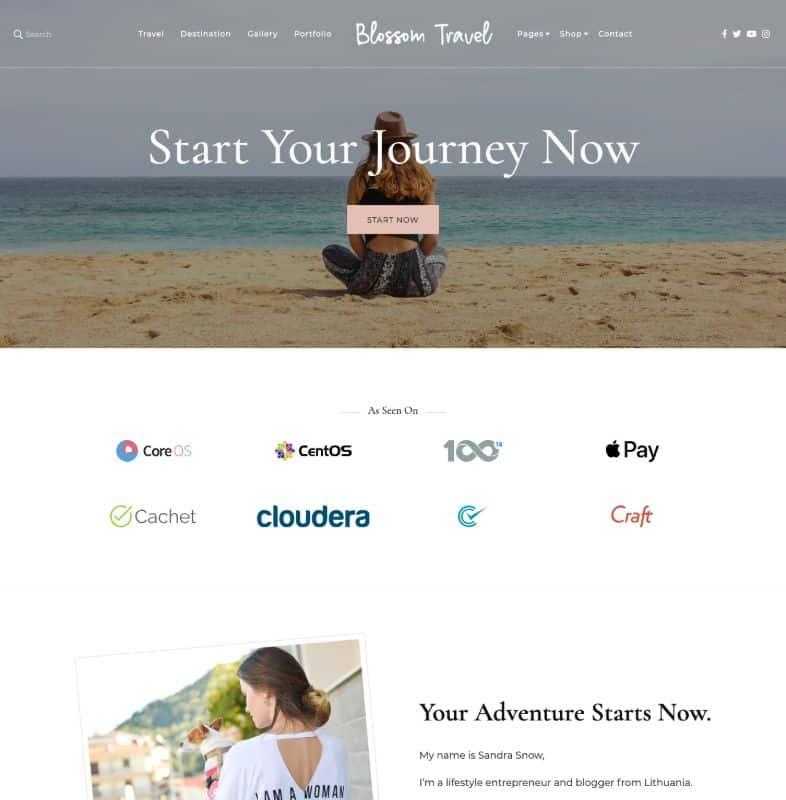 Blossom Travel Pro WordPress Theme