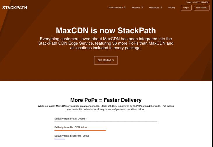MaxCDN - StackPath