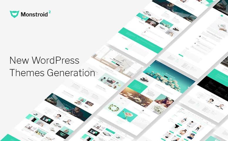 Monstroid 2 - Multifunctional GPL WordPress Theme