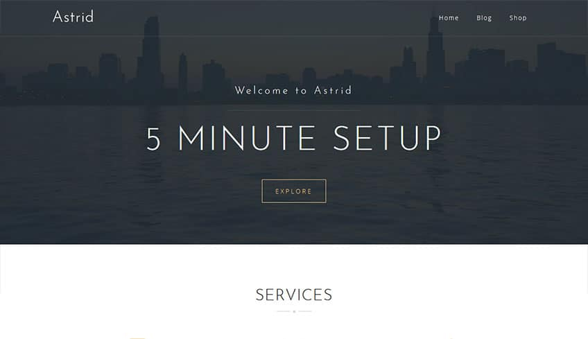 Astrid Free WordPress Theme