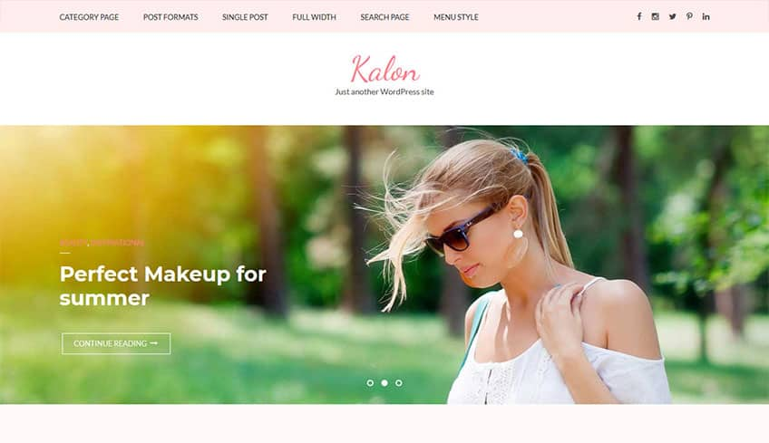 Kalon Free WordPress Theme