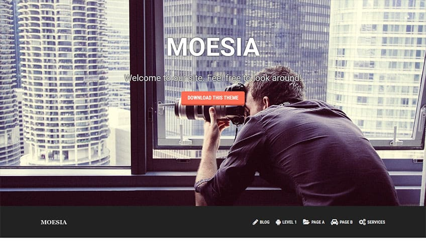 Moesia Free WordPress Theme