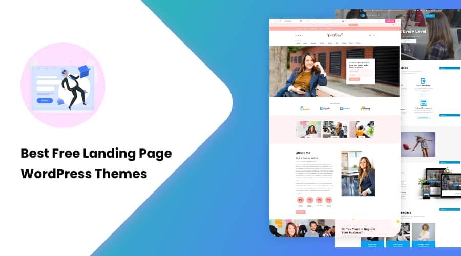 35+ Best Free Landing Page WordPress Themes of 2021