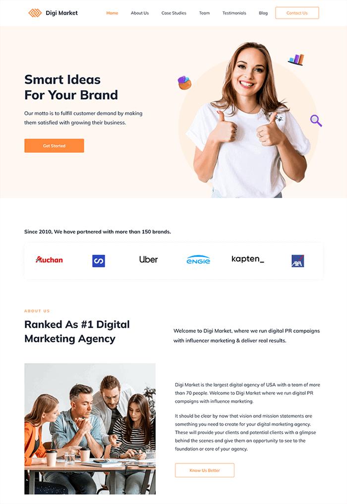 Rishi Theme- Digital Marketing