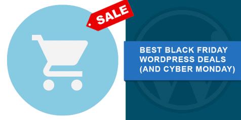 wordpress deals black friday cyber monday