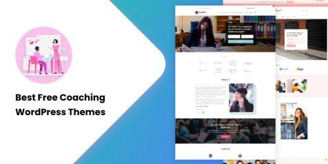 Best Free Coaching WordPress Themes