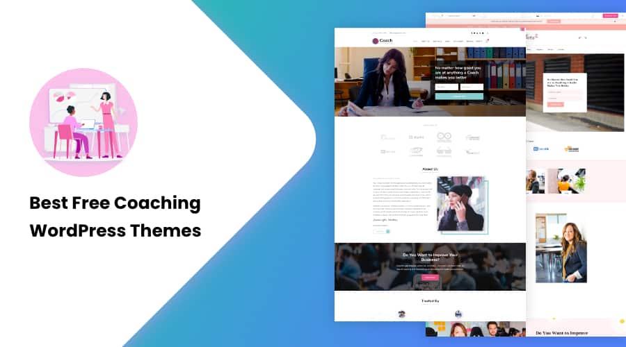 15+ Best Free Coaching WordPress Themes