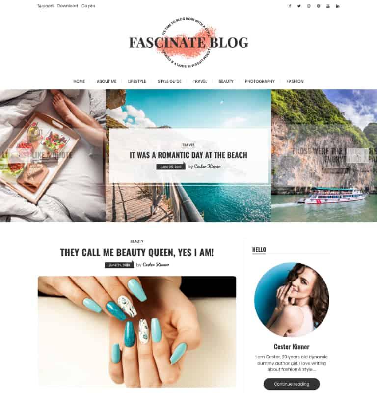 Fascinate Blog