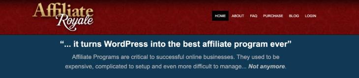 Affiliate Royale WordPress Plugin