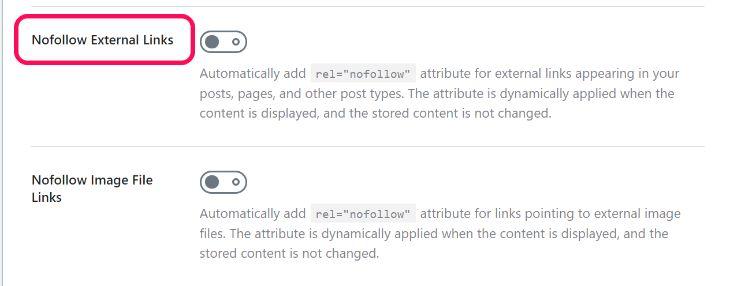 External Link Manager of RankMath WordPress Plugin
