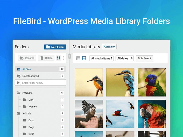 FileBird WordPress Plugin