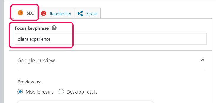 Keyword Optimization of Yoast SEO WordPress Plugin