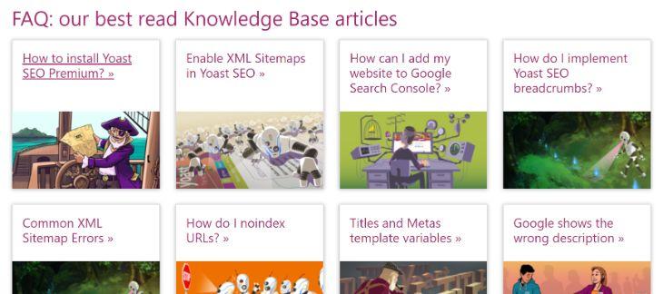 Knowledge Base of Yoast SEO WordPress Plugin