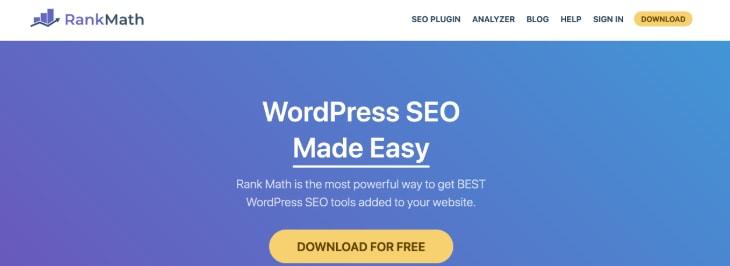 Rank Math WordPress Plugins