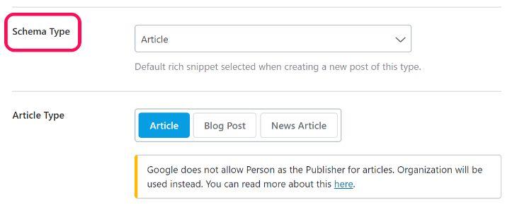 Schema Integration of RankMath WordPress Plugin