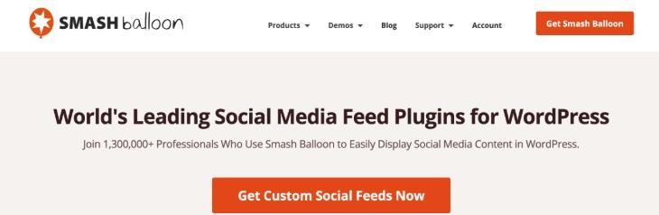 Smash Balloon WordPress Plugin