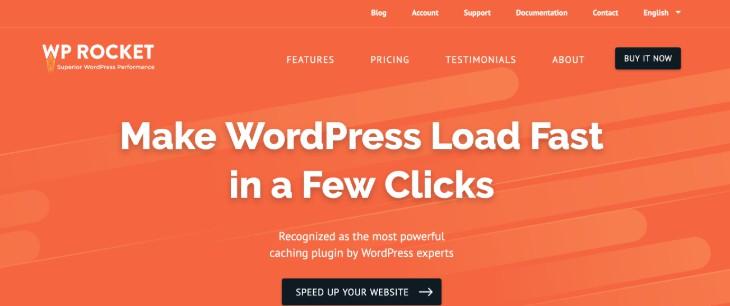 WP Rocket WordPress Plugins