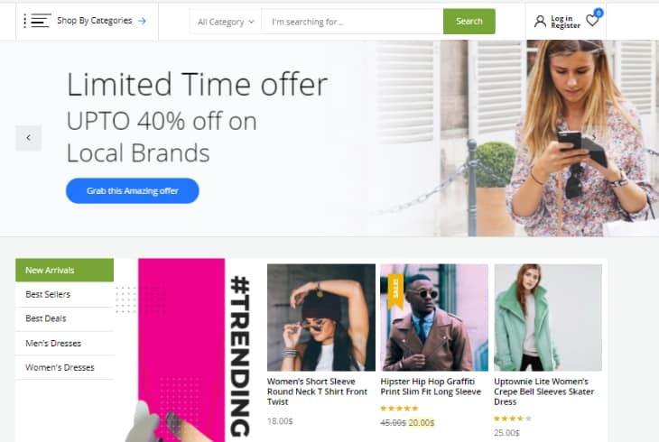 Store Lite WordPress Theme