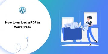 How to embed a PDF in WordPress