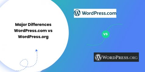 Major Differences WordPress.com vs WordPress.org