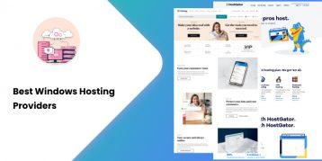 Best Windows Hosting Providers