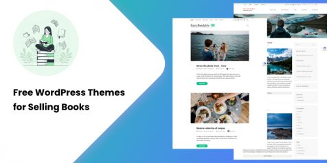Free WordPress Themes for Selling Books