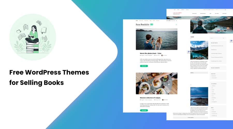 10+ Free WordPress Themes for Selling Books