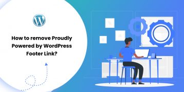 How to remove Proudly Powered by WordPress Footer Link