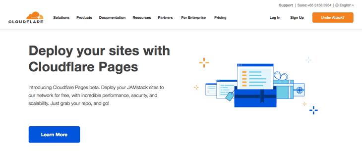 Cloudflare Domain provider