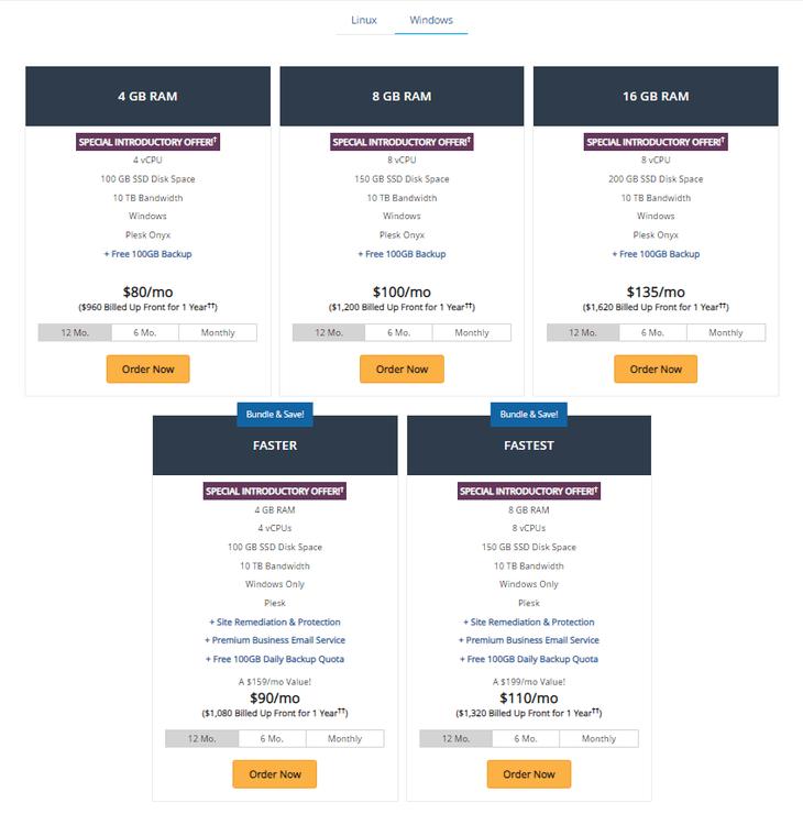 Liquid Web VPS Plan