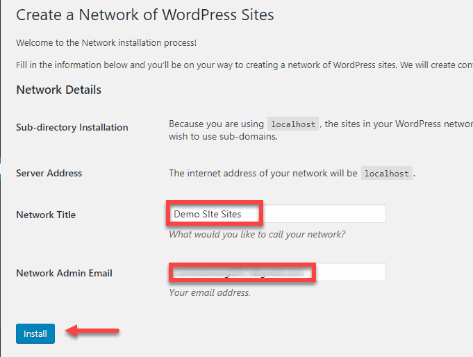 Setup Your Multisite Network