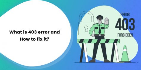 What is 403 error and How to fix it