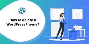 How to delete a WordPress theme