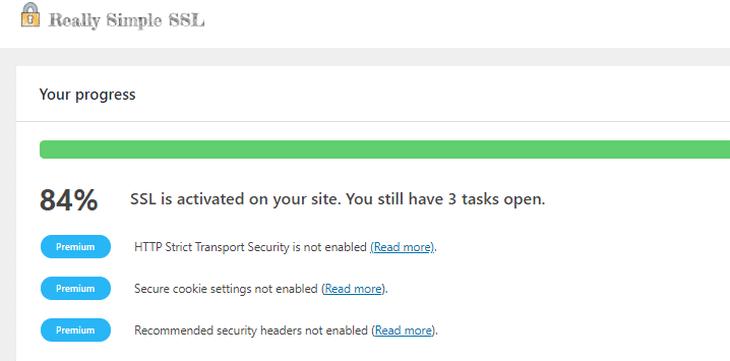 plugin setting up the SSL